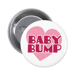 Baby-Stoßentwurf Runder Button 5,7 Cm