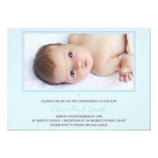 Baby-Taufe/Taufe-Einladung 12,7 X 17,8 Cm Einladungskarte