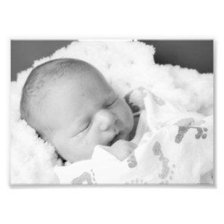 Baby Thomas B&W Photodruck