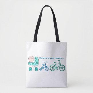 Baby-Träume der zukünftigen Taschen-Tasche
