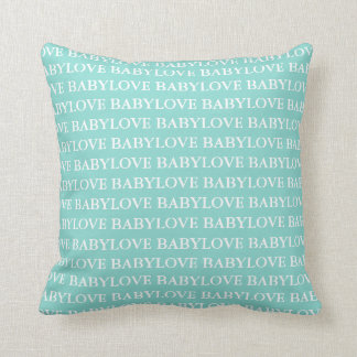 BABY u. Co aquamarines blaues Kissen
