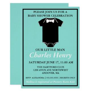 BABY u. Co-Jungen-Baby-Duschen-Party Einladung