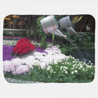 Baby umfassendes VEGAS-Schmetterlings-Garten 1 Kinderwagendecke