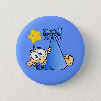 Babybündel und Sun Runder Button 5,7 Cm