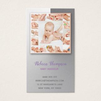 Babymasseur-Massage-Spezialisten-Physiotherapeut Visitenkarte