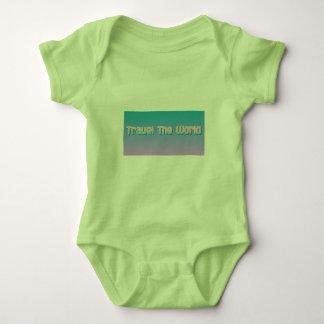 Babyreise die Welt Baby Strampler
