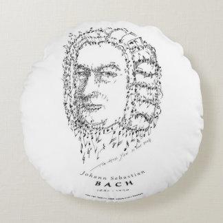 Bach: Stellen Sie die Musik gegenüber Rundes Kissen
