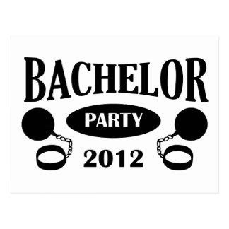 Bachelor Party Postkarte