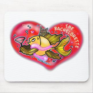 Bachelorette Henne-Party-Fische Mousepad