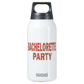 BACHOLERETTE Party: Hochzeits-Verlobung LOWPRICES Isolierte Flasche