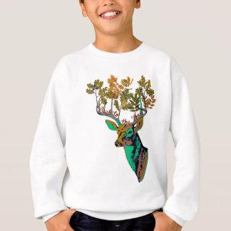 back to the woods sweatshirt