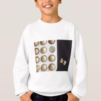 Backen-kleine Kuchen - süßer Bäckerei-Druck Sweatshirt