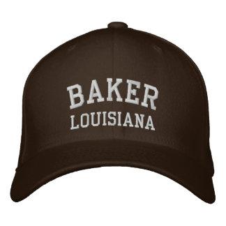 Bäcker Bestickte Kappe