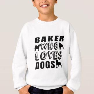 Bäcker, den Lieben verfolgt Sweatshirt
