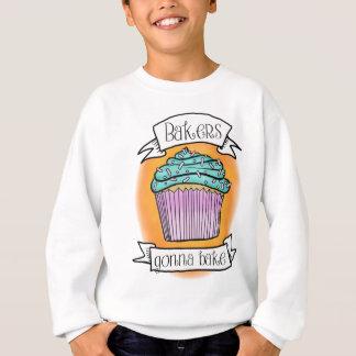 Bäcker, die gehen zu backen sweatshirt