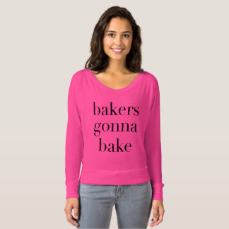 Bäcker, die gehen zu backen t-shirt