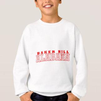 Bäcker-Hügel, Alabama-Stadt-Entwurf Sweatshirt