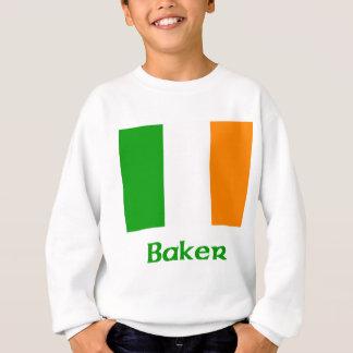 Bäcker-Iren-Flagge Sweatshirt