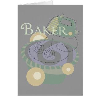 Bäcker Karte