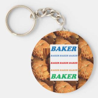 BÄCKER Keks-Plätzchen-Kuchen-Gebäck-Eiscreme SPASS Schlüsselband
