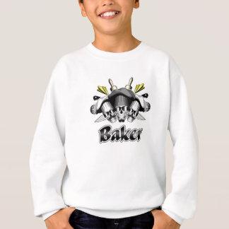 Bäcker-Schädel-und Küchen-Geräte Sweatshirt