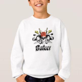 Bäcker-Schädel: Werkzeuge des Handels Sweatshirt