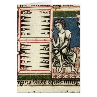 Backgammon Karte