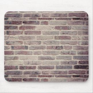 Backsteinmauer-Mausunterlage Mousepad