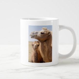 Bactrian Kamel-Porträt Jumbo-Tassen