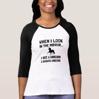 Badass Einhorn T-Shirt
