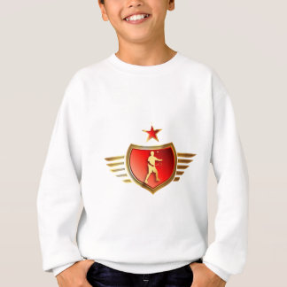 Badminton player sweatshirt