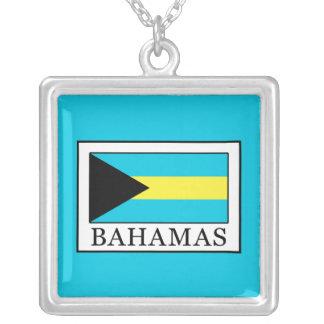 Bahamas Versilberte Kette