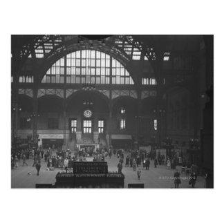 Bahnhof Postkarte