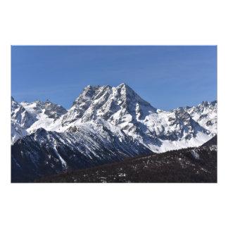 Baima Schnee-Berg Fotodruck