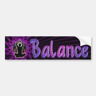Balance das ~ der Frauen: Meditation u. heilige Autoaufkleber