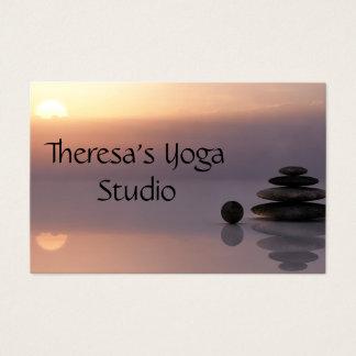 Balancen-Zen-Yoga-Visitenkarten Visitenkarte
