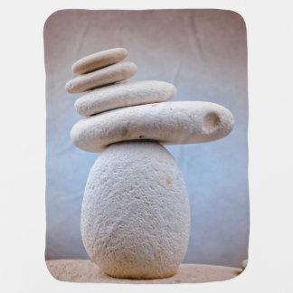 Balancierendes Stein-Quadrat + Ihre Ideen Babydecke
