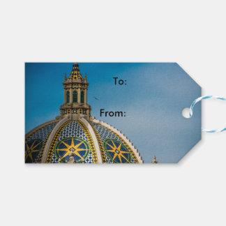 Balboa-Park-San Diego Mosaik-Hauben-Architektur Geschenkanhänger