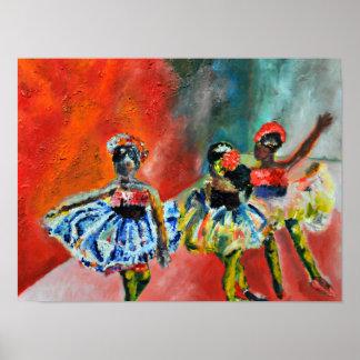 Ballerina-Plakat Poster