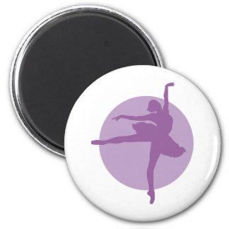 Ballett 2c runder magnet 5,1 cm