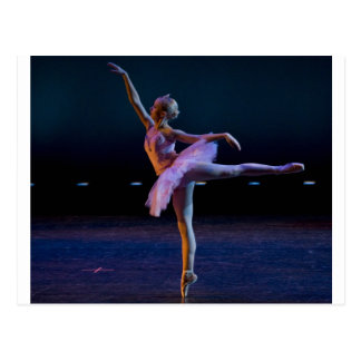 Ballett-Arabeske Postkarte
