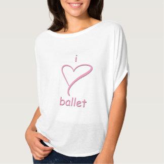 Ballett des Herzens I - niedliche Spitze für T-Shirt