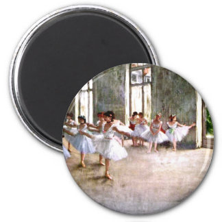 Ballett-Probe Runder Magnet 5,7 Cm