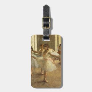 Ballett-Tänzer durch Edgar Degas Gepäckanhänger