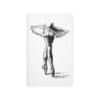 Ballett Taschennotizbuch