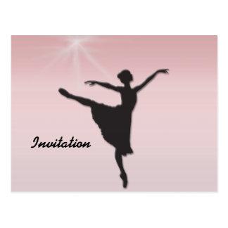 Balletttänzer Postkarte
