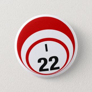 Ballknopf des Bingo-I22 Runder Button 5,7 Cm
