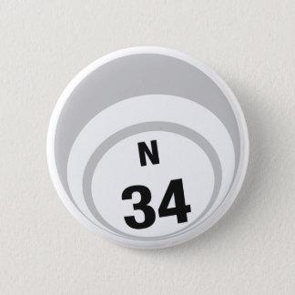 Ballknopf des Bingo-N34 Runder Button 5,1 Cm