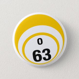 Ballknopf des Bingo-O63 Runder Button 5,1 Cm