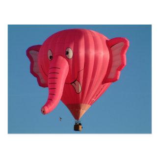 Ballon-Elefant Postkarten
